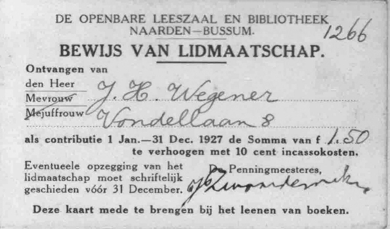 Bussums Historisch Tijdschrift Contactblad